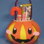 かぼちゃのお菓子バック:ハロウィン工作